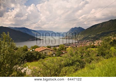 View On Lake Iseo