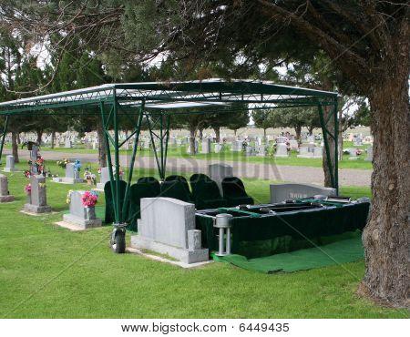 Preparación para un funeral