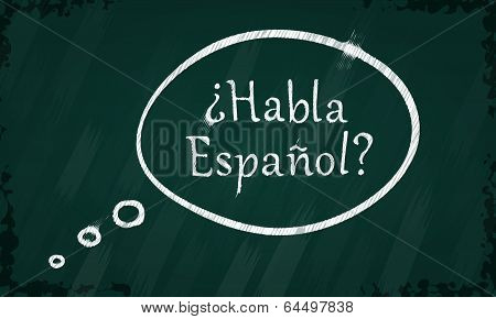 Speak Spanish