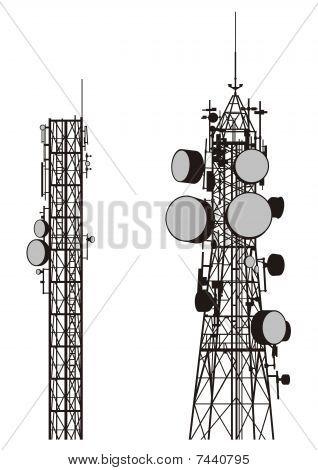 Torres de comunicação