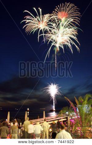 Fireworks At Scheveningen