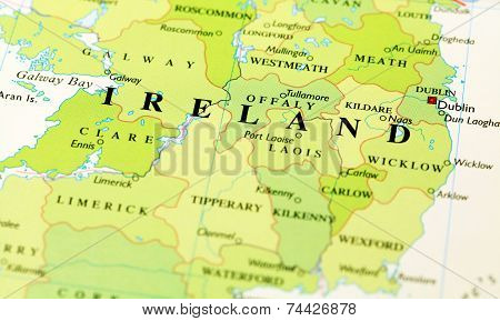 Ireland On Map