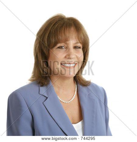Friendly Female Executive