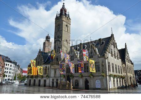 cityhall of Dendermonde Belgium