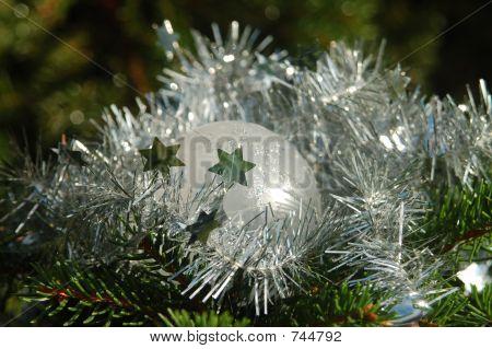 white christmas ball