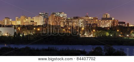 Skyline Of Regina, Saskatchewan