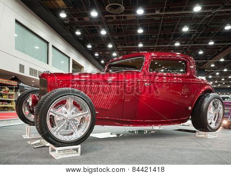 1932 Ford 3-W Coupe