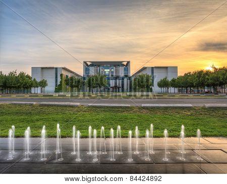 Chancellery in Berlin Germany