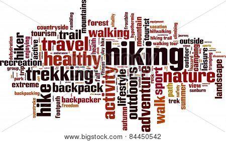 Hiking Word Cloud