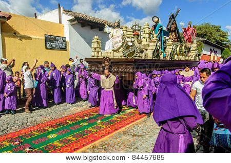 Lent Procession, Antigua, Guatemala