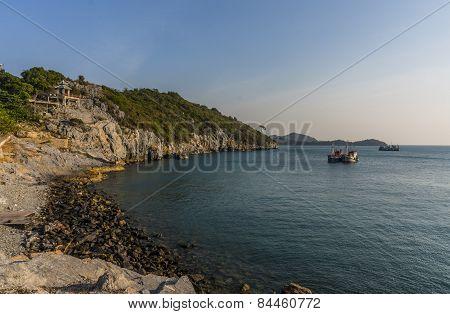 View of Srichang Island