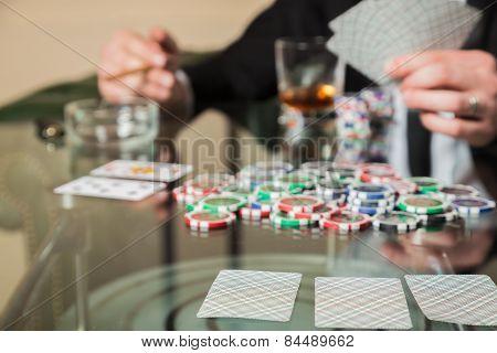 Poker player.