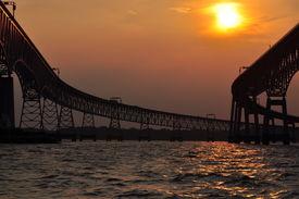 Bridges at Sunset