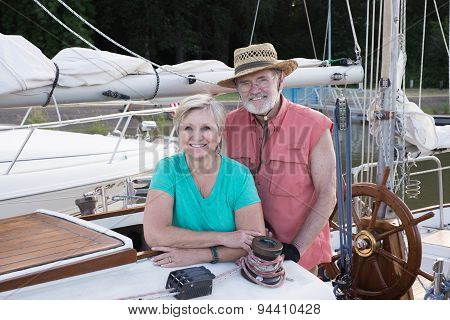 Portrait On The Ketch