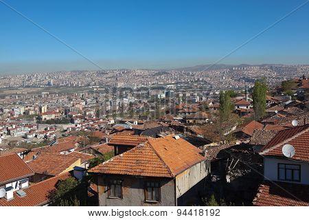 Panorama Ankara. Turkey