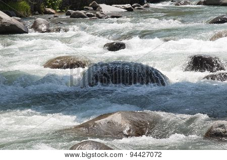 River Flowing Downstream