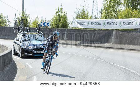 The Cyclist  Nieve Iturralde - Tour De France 2014