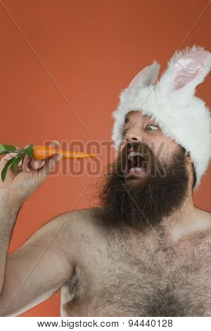 Hungry Bunny Man
