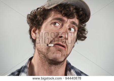 Scared Redneck