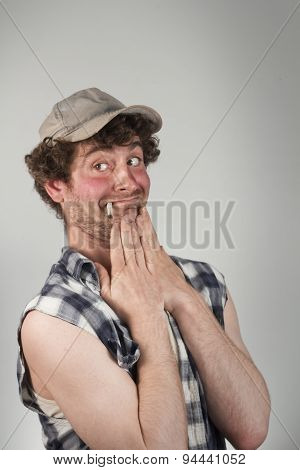 Embarrassed Redneck
