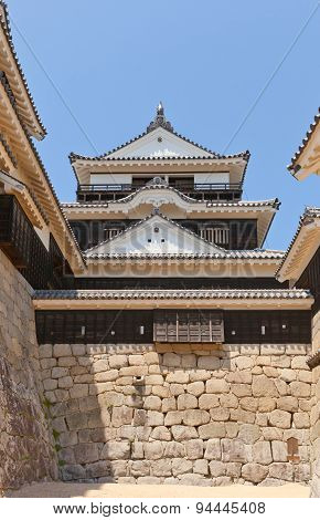 Main Keep (1854) Of Matsuyama Castle, Japan