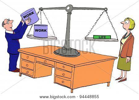 Lack of Work Life Balance