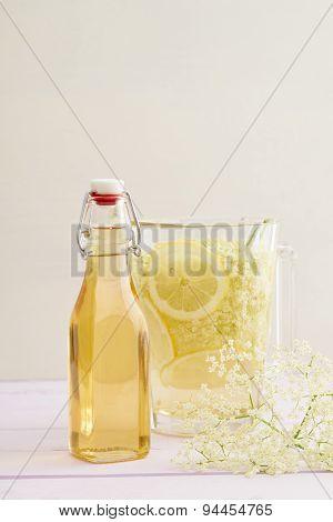Infused Elderflower Syrup