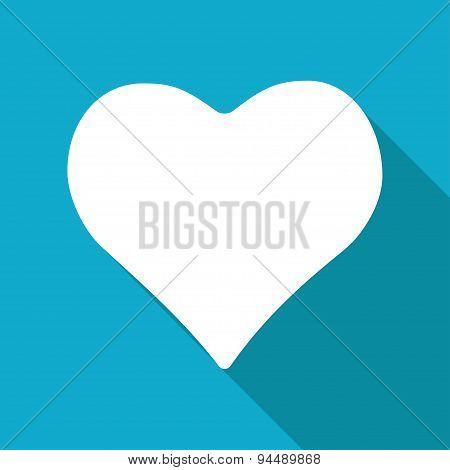 Vector game heart icon. Eps10