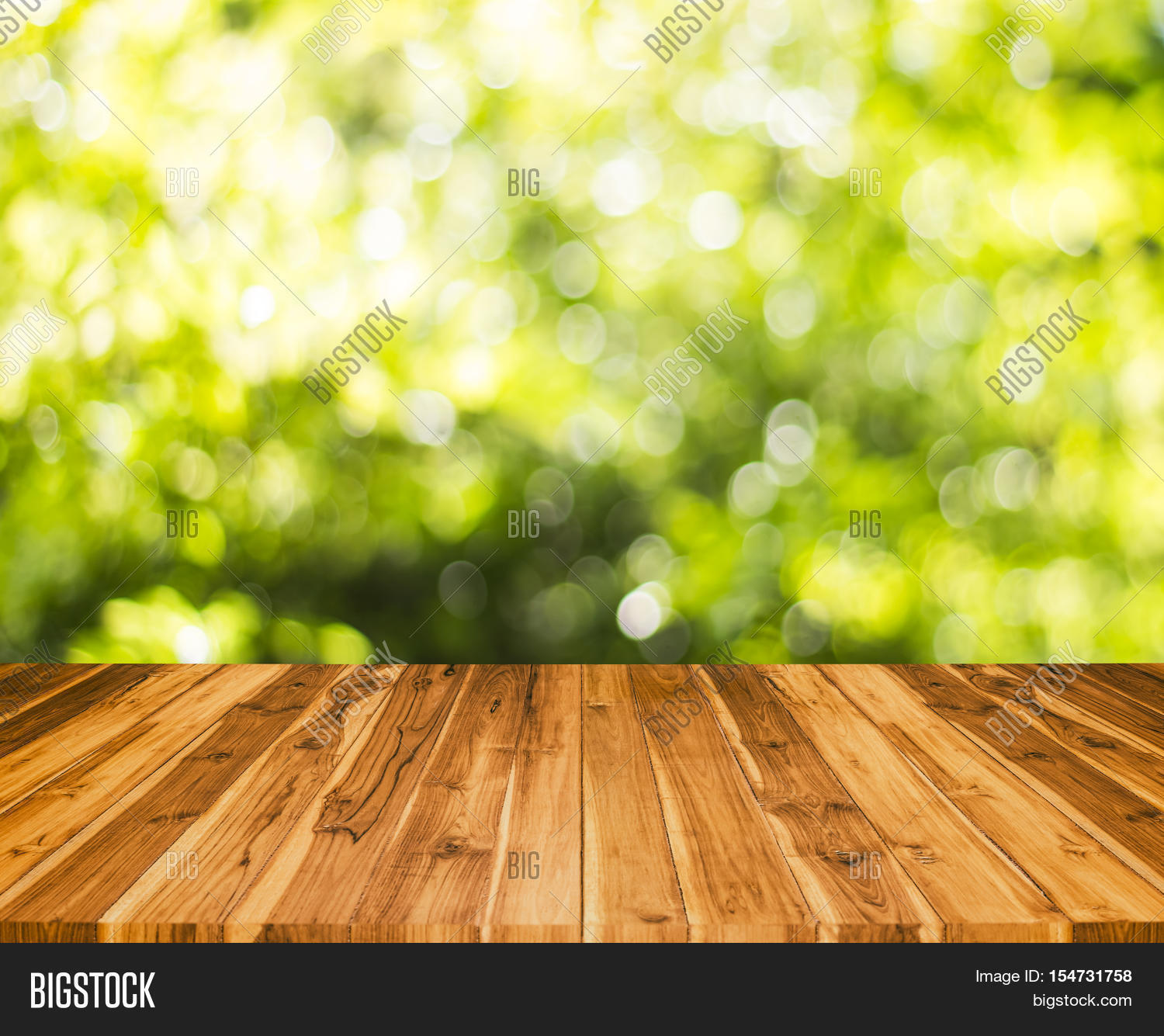 Wood table blur tree background image photo bigstock for Table background