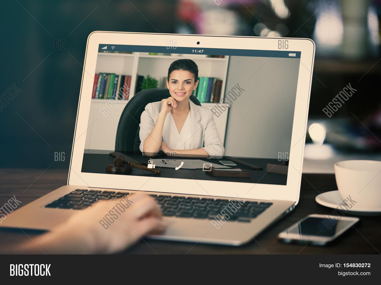Woman Video Image & Photo (Free Trial)   Bigstock
