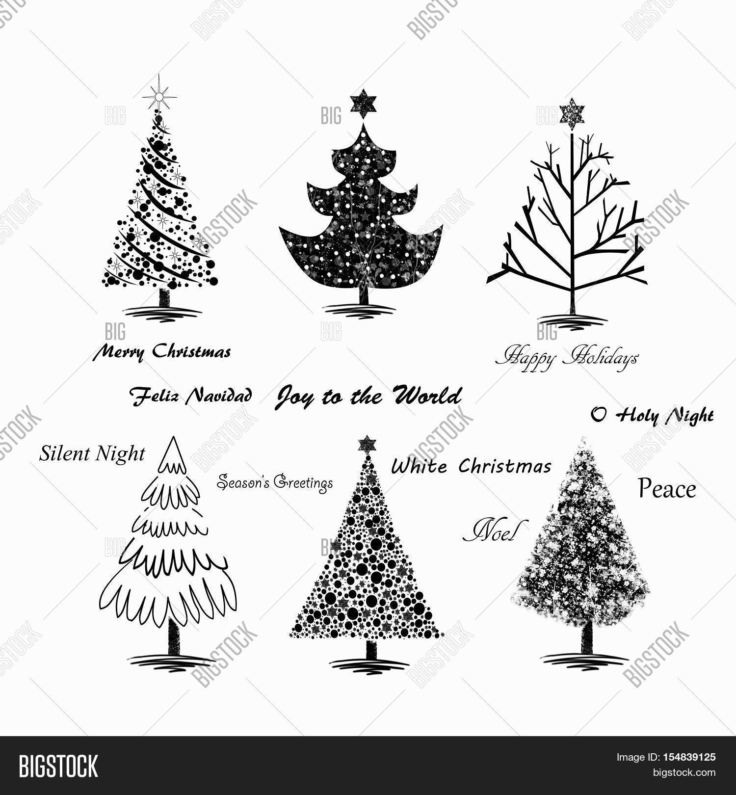 Hand Drawn Christmas Image & Photo (Free Trial) | Bigstock