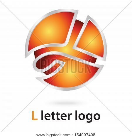 3d l letter logo 100% vector fully editable and resizable suitable for which letter is begining with letter l