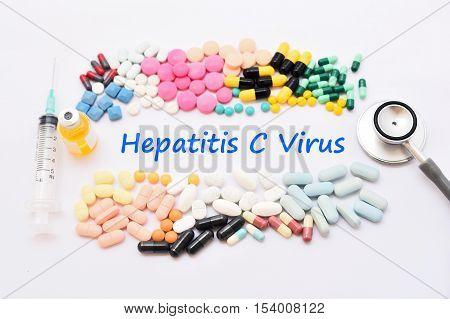 Drugs for hepatitis C virus (HCV) treatment
