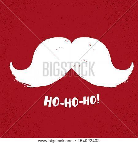 Ho-Ho-Ho! Christmas concept illustration