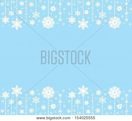 Abstract Merry Christmas Ornaments Design, Christmas Decorations. Seamless Patter. Vector Set. New Y