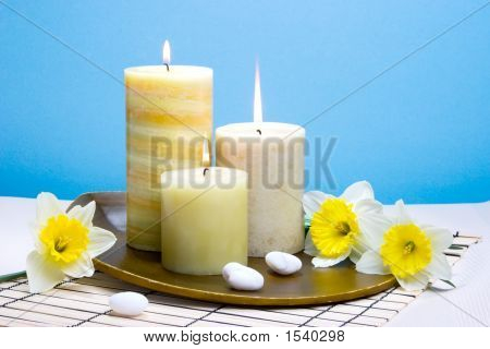 Daffodiles Aroma Therapy Set