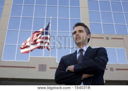 Businessman Outside 7