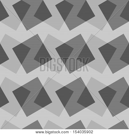 Vector seamless pattern with rectangles.Modern geometric texture. Opt Art