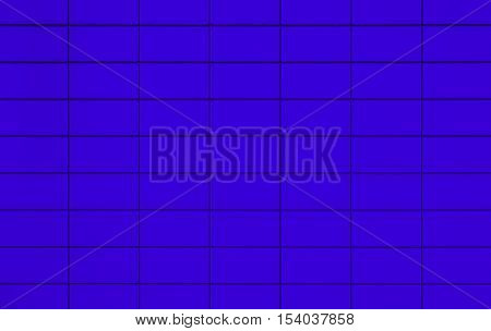 View of a Blue tiled wall suitable for backgrounds