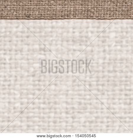 Textile surface, fabric industry, buff canvas, stained material close-up background