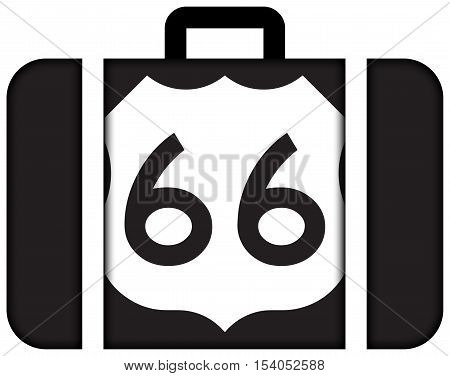 U.s. Route 66 (us 66 Or Route 66), Also Known As The Will Rogers Highway And Also Known As The Main
