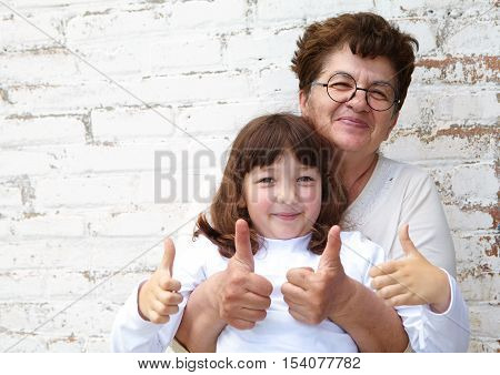 The Little Girl And Her Grandmother Show Ok