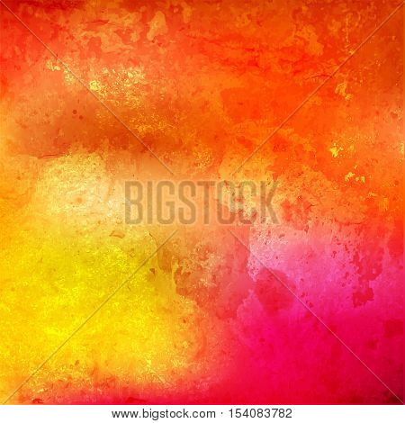 Colorful watercolor background. bright abstract pattern. Watercolor vector texture, stains, splatter splash