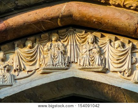 Hdr Santa Maria Della Salute Church In Viterbo