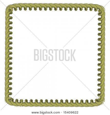 Vector Gold Border Frame