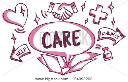 Support Donations Charity Volunteer Care Welfare Concept
