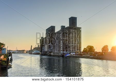 The Red Hook Grain Terminal