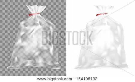 Transparent Polyethylene Package