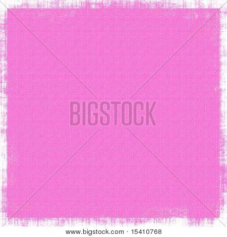 Hot Pink Canvas Grunge Background