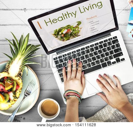 Nutrition Healthy Diet Plan Concept